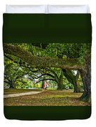 City Park Stroll 2 Duvet Cover