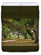 City Park Stroll Duvet Cover