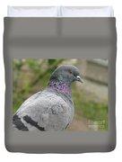 City Pigeon Duvet Cover