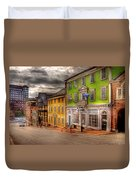 City - Providence Ri - Thomas Street Duvet Cover