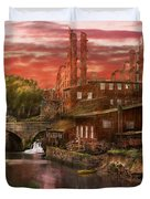 City - Richmond Va - After The Fighting Stopped - 1865 Duvet Cover