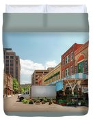 City - Roanoke Va - The City Market Duvet Cover