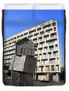 City Sculpture London Duvet Cover