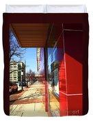 City Sidewalk Duvet Cover