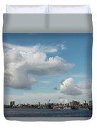 City Skyline, Manaus, Brazil Duvet Cover