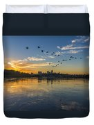 City Wakes Duvet Cover