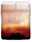 City Window Duvet Cover by Bob Orsillo