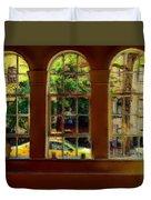 City Windows Duvet Cover