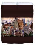 Cityscape Dream Duvet Cover