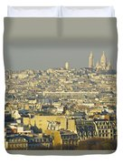 Cityscape Of Paris Paris, France Duvet Cover by Ingrid Rasmussen