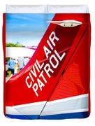 Civil Air Patrol Duvet Cover