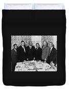 Civil Rights Leaders, 1963 Duvet Cover