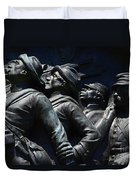 Civil War Figures Duvet Cover