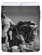 Civil War In Washington Duvet Cover