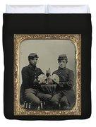 Civil War Soldiers C1863 Duvet Cover