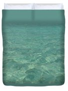Clear Water Of Guam Duvet Cover