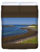 Claigan Coral Beach Duvet Cover