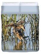 Clapper Rails Mating Duvet Cover