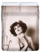 Clara Bow Duvet Cover