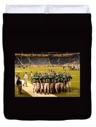 Clare Pioneers At Ford Field Duvet Cover