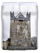 Claregalway Castle - Ireland Duvet Cover