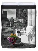Clark House Flowers 2 Duvet Cover