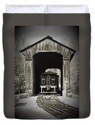 Clarks Trading Post Train Duvet Cover