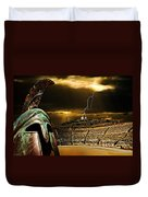 Clash Of The Titans Duvet Cover