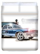 Classic '64 Dodge Oakland County Mi Duvet Cover