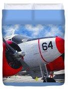 Classic Aircraft Duvet Cover