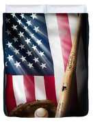 Classic Americana Duvet Cover by Bill Wakeley