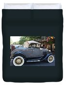 Classic Antique Car - Ford 1920s Duvet Cover