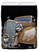 Classic Car - 1935 Buick Victoria Duvet Cover