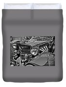 Classic Car Detail Duvet Cover