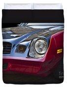 Classic Chevrolet Camaro Duvet Cover