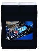 Classic Chevy Power Plant Duvet Cover