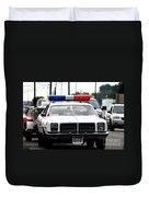 Classic Cop Car Duvet Cover
