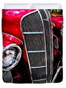 Classic Dodge Brothers Sedan Duvet Cover