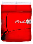 Classic Ford F100 Duvet Cover