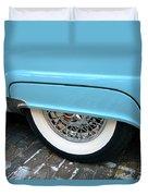 Classic Lines Of 1956 Duvet Cover
