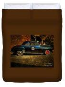 Classic Police Car Duvet Cover