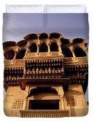 A Rajasthan Haveli Duvet Cover