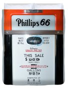 Classic Vintage Gilbarco Phillips 66 Gas Pump Dsc02751 Duvet Cover