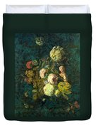 Classical Bouquet - S04bt01 Duvet Cover by Variance Collections