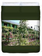 Claude Monets House - Giverney Duvet Cover