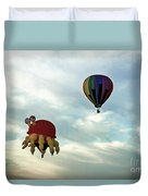 Claw D The Crab Duvet Cover