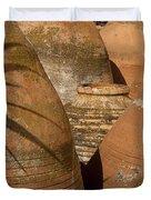 Clay Pots   #7806 Duvet Cover