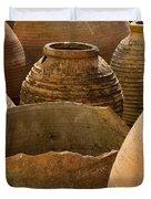 Clay Pots   #7811 Duvet Cover