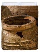 Clay Pots   #7816 Duvet Cover