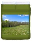 Clean Green Duvet Cover